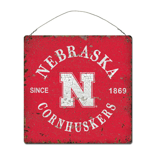 University of Nebraska Around Campus Sign