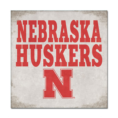 University of Nebraska Canvas Wall Art