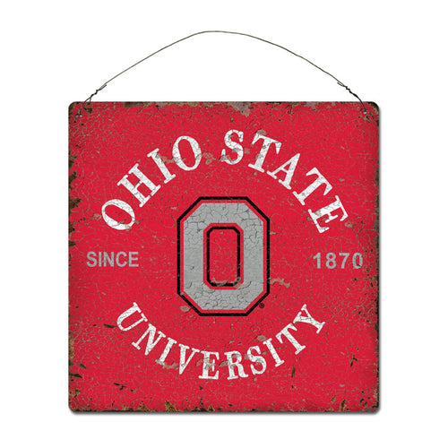 Ohio State University Around Campus Sign
