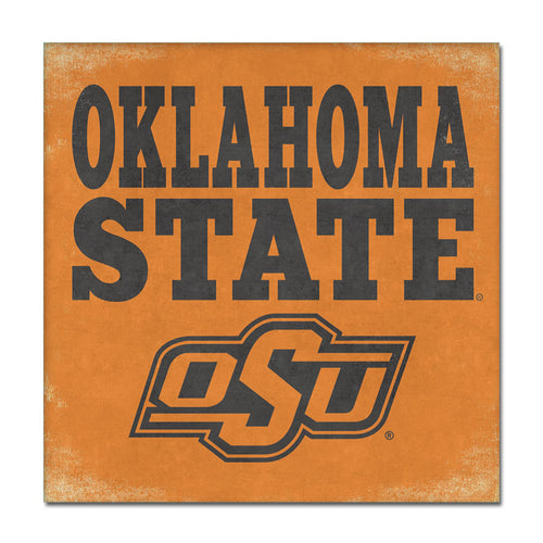 Oklahoma State University Canvas Wall Art