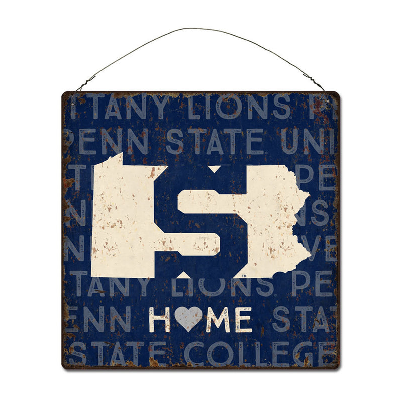 Penn State University Home State Tin Sign