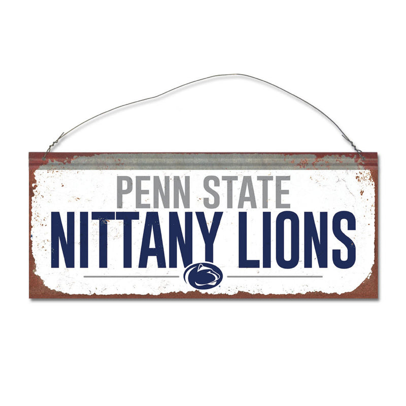 Penn State University Small White Sign