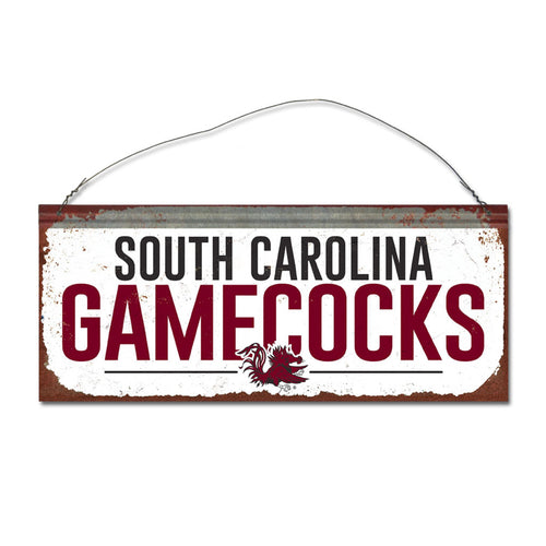 University of South Carolina Small White Sign