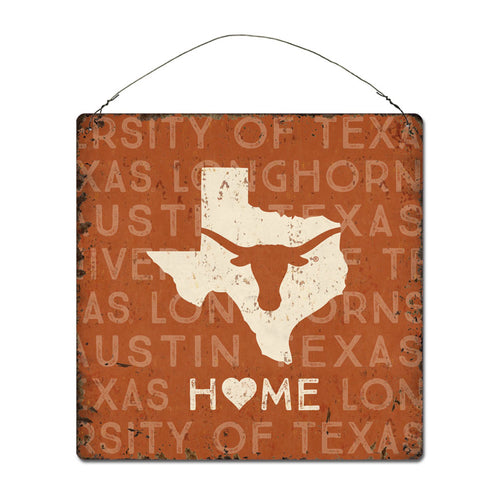 University of Texas Home State Tin Sign