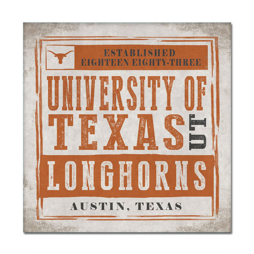 University of Texas Chronicle Canvas Wall Art