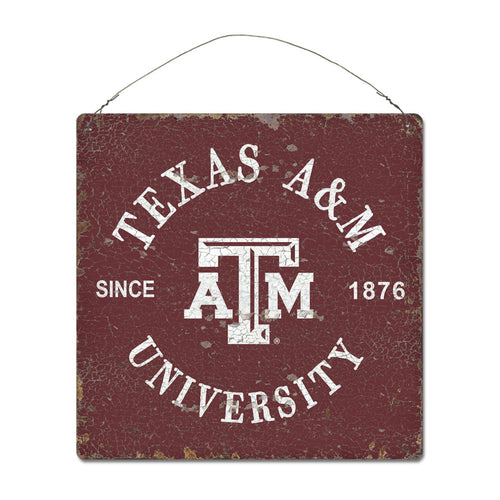 Texas A&M University Around Campus Sign