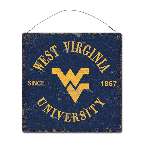 West Virginia University Around Campus Sign