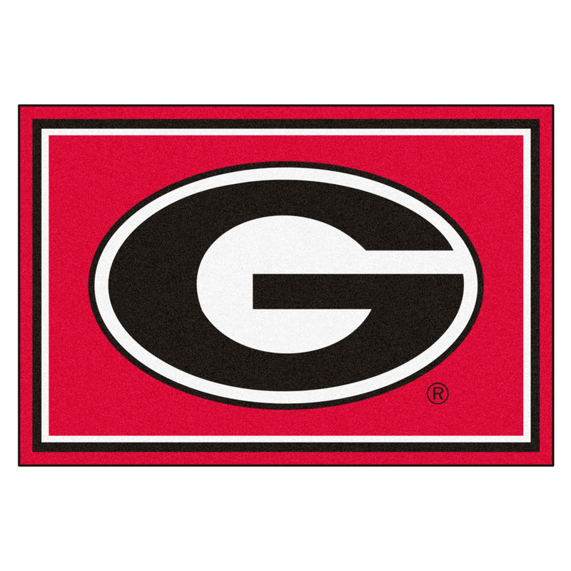 University of Georgia Mascot Area Rug