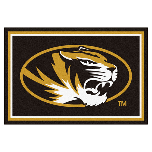 University of Missouri Tigers Mascot Area Rug