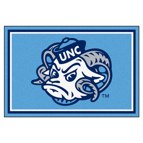 University of North Carolina Tar Heels Mascot Area Rug