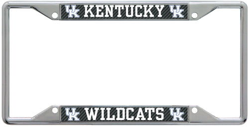 University of Kentucky Carbon License Plate Frame
