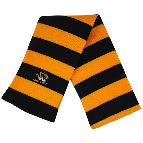 University of Missouri Knit Rugby Scarf