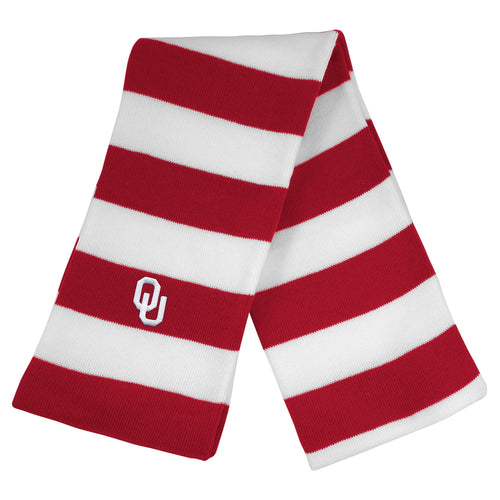 University of Oklahoma Knit Rugby Scarf