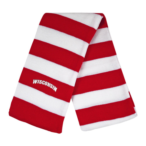 University of Wisconsin Knit Rugby Scarf