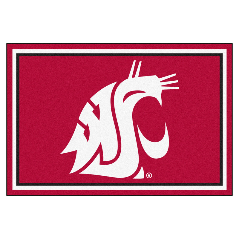 Washington State University Mascot Area Rug