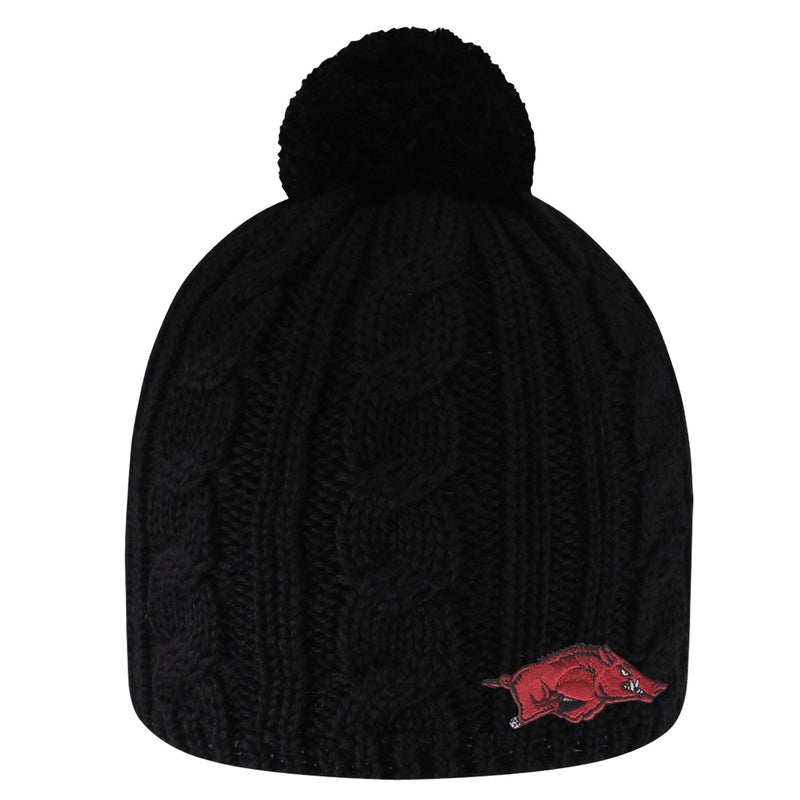 University of Arkansas Cumberland Pom Pom  Beanie