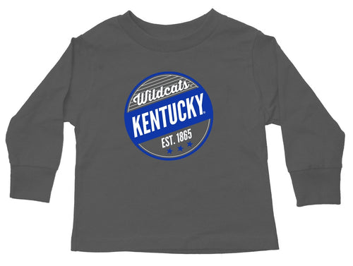 University of Kentucky Gray Toddler Long Sleeve