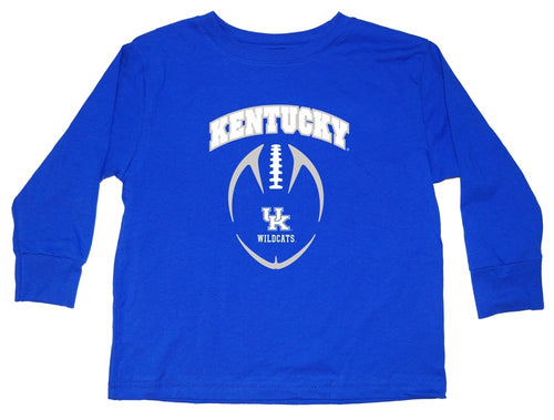 University of Kentucky Toddler Football Long Sleeve Shirt