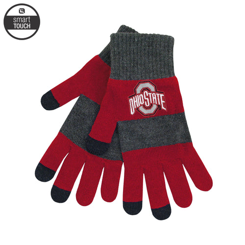 Ohio State University Buckeyes Smart-Touch Gloves