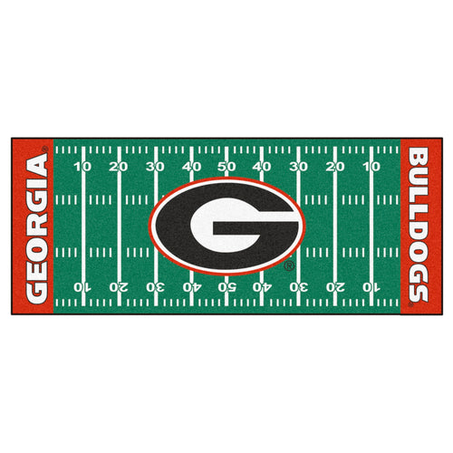 University of Georgia Football Field Runner