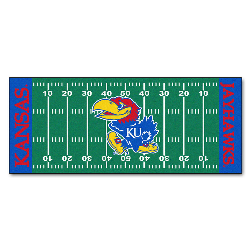 University of Kansas Football Field Runner