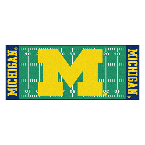 University of Michigan Football Field Runner