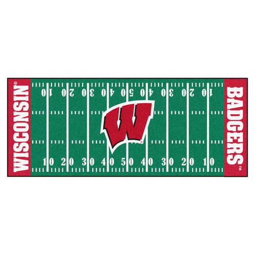 University of Wisconsin Football Field Runner