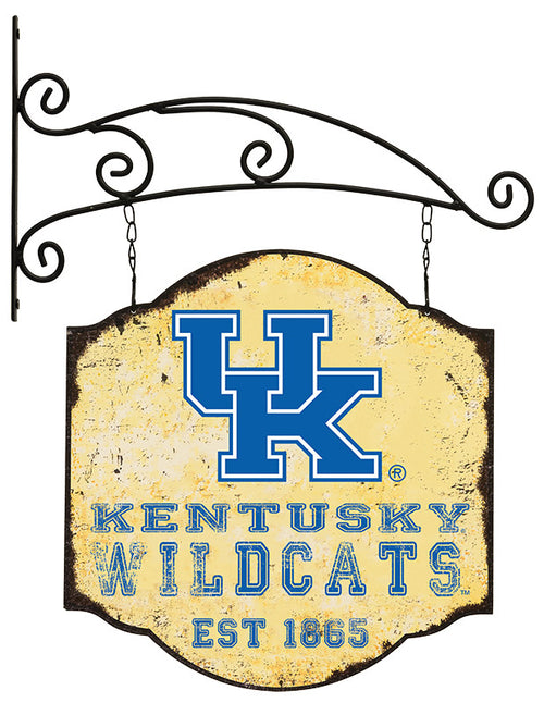 University of Kentucky Distressed Cottage Sign