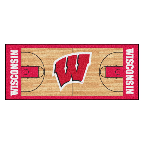 University of Wisconsin Basketball Court Runner