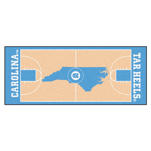 University of North Carolina Basketball Court Runner
