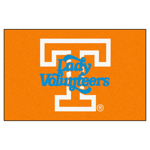 University of Tennessee Lady Vols Custom Logo Starter Rug
