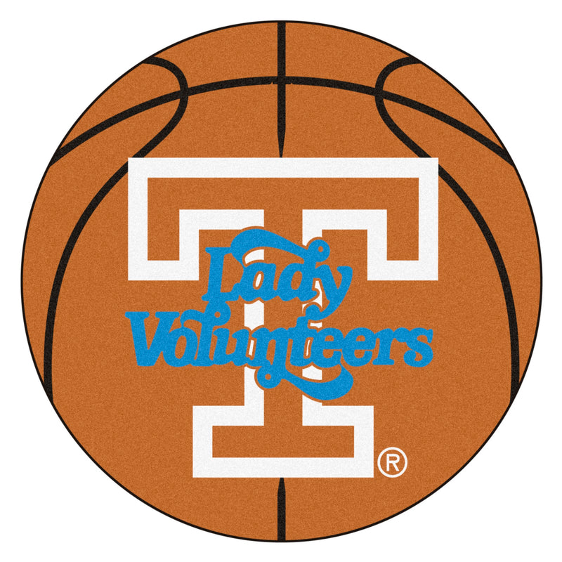 University of Tennessee Lady Vols Basketball Area Rug