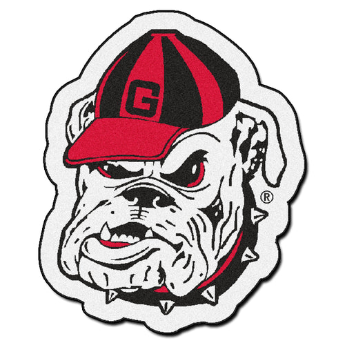 University of Georgia Bulldogs Mascot Area Rug