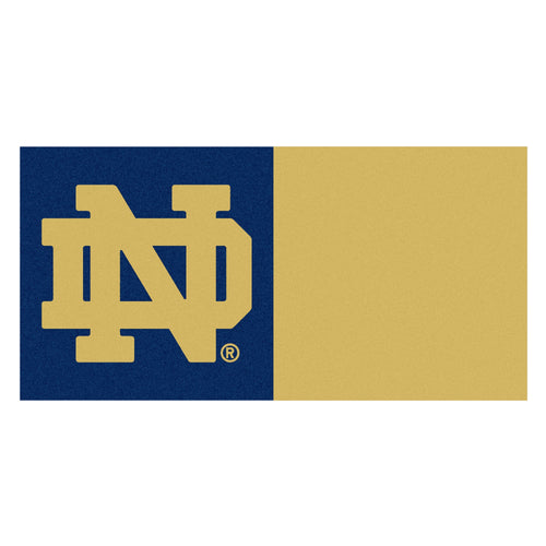 University of Notre Dame Carpet Tiles