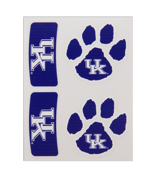 University of Kentucky Body-Cals Temporary Tattoos