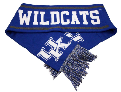 University of Kentucky Double Layer Knit Scarf