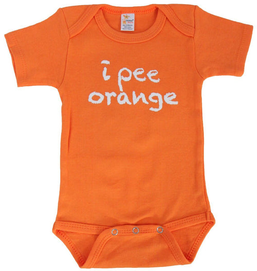 I Pee Orange Onesie