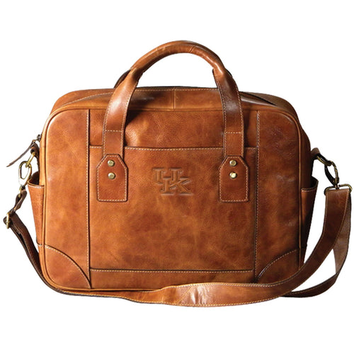 University of Kentucky Leather Briefcase