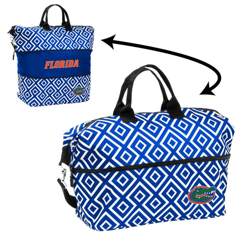 University of Florida Expandable Double Diamond Tote