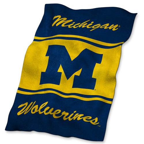 University of Michigan Ultra Soft Blanket