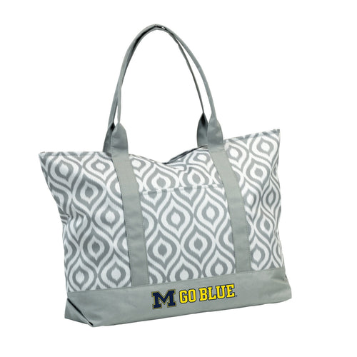 University of Michigan Ikat Tote