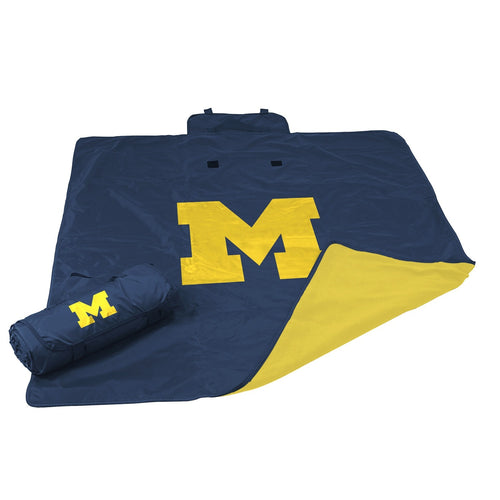 University of Michigan All Weather Blanket