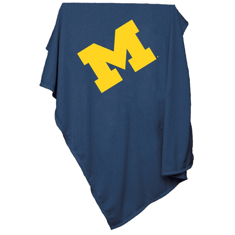 University of Michigan Sweatshirt Blanket