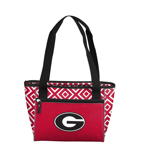 University of Georgia Double Diamond 16 Can Cooler Tote