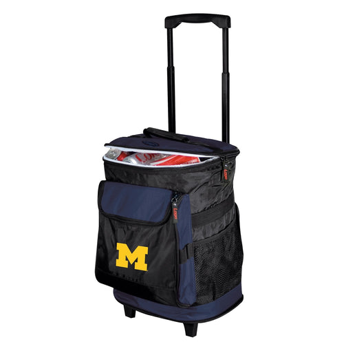 University of Michigan Wolverines Rolling Cooler
