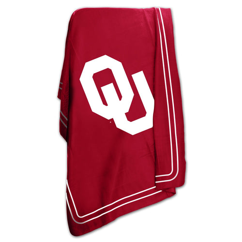 University of Oklahoma Classic Fleece Lightweight Blanket