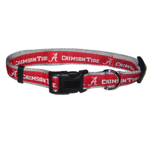 University of Alabama Nylon Adjustable Dog Collar