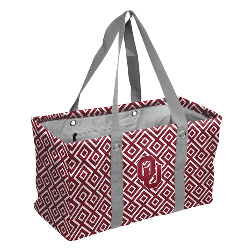 University of Oklahoma Double Diamond Picnic Caddy
