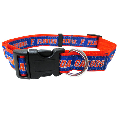 University of Florida Nylon Adjustable Dog Collar