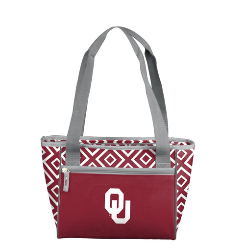University of Oklahoma Double Diamond 16 Can Cooler Tote